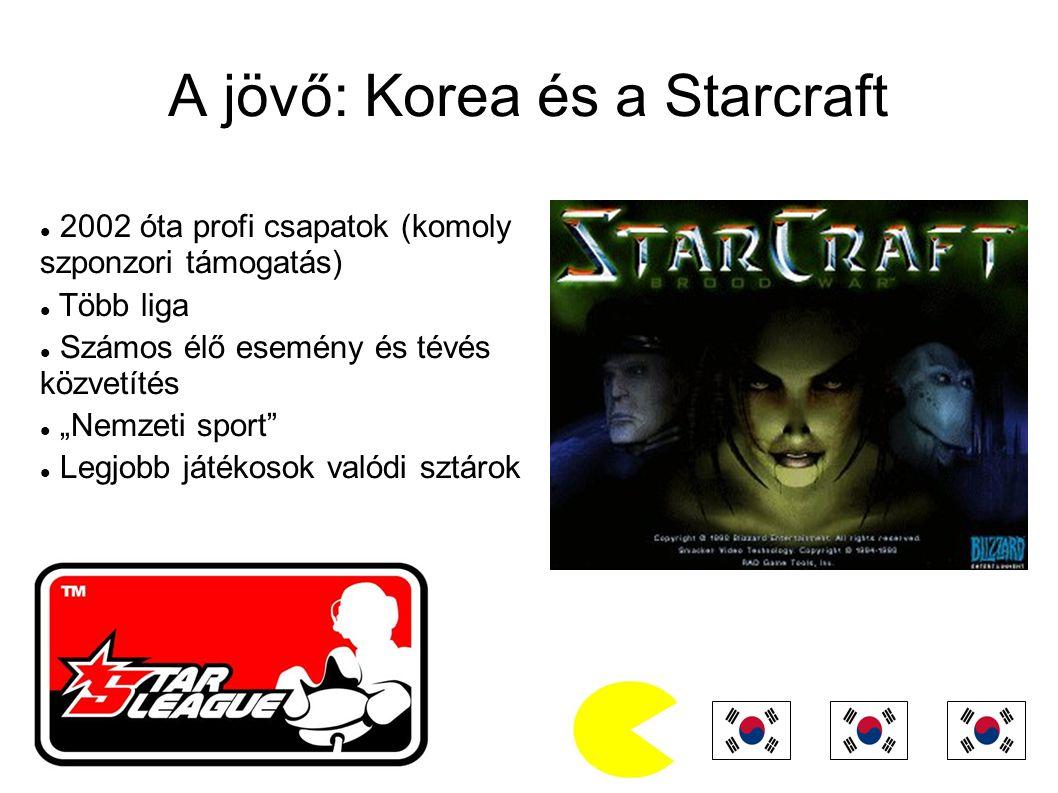 A jövő: Korea és a Starcraft