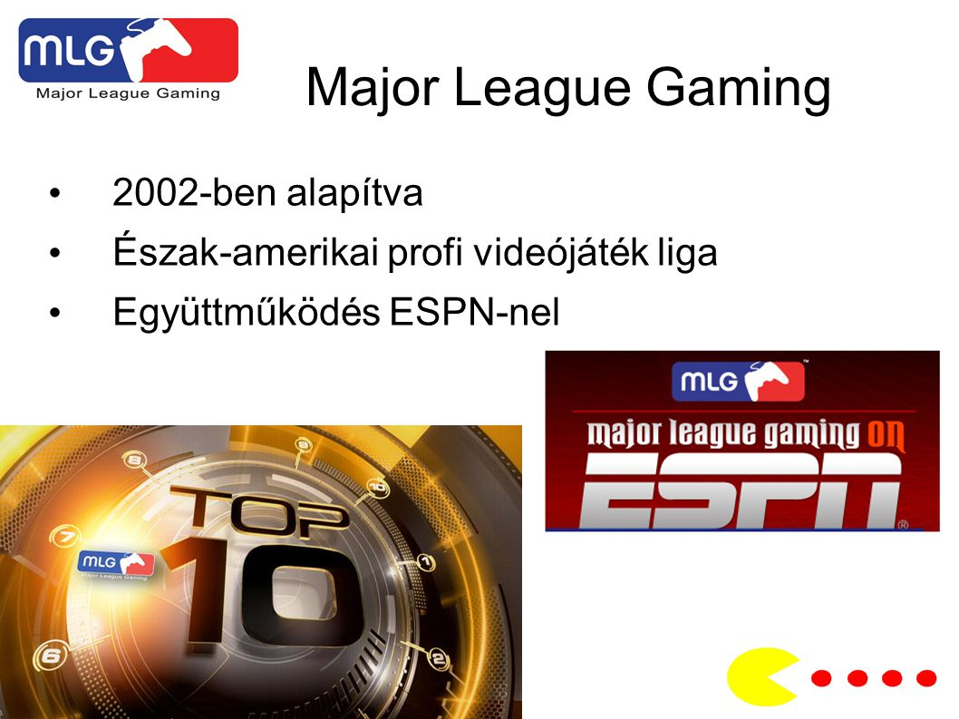 Major League Gaming 2002-ben alapítva