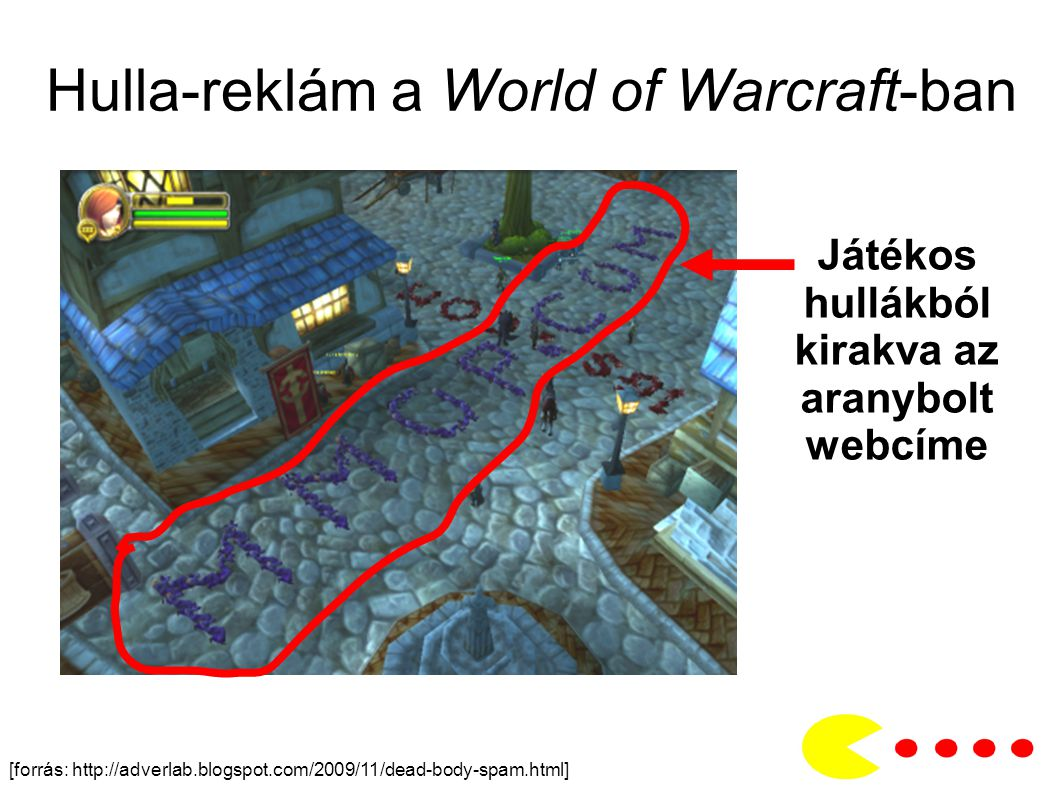 Hulla-reklám a World of Warcraft-ban