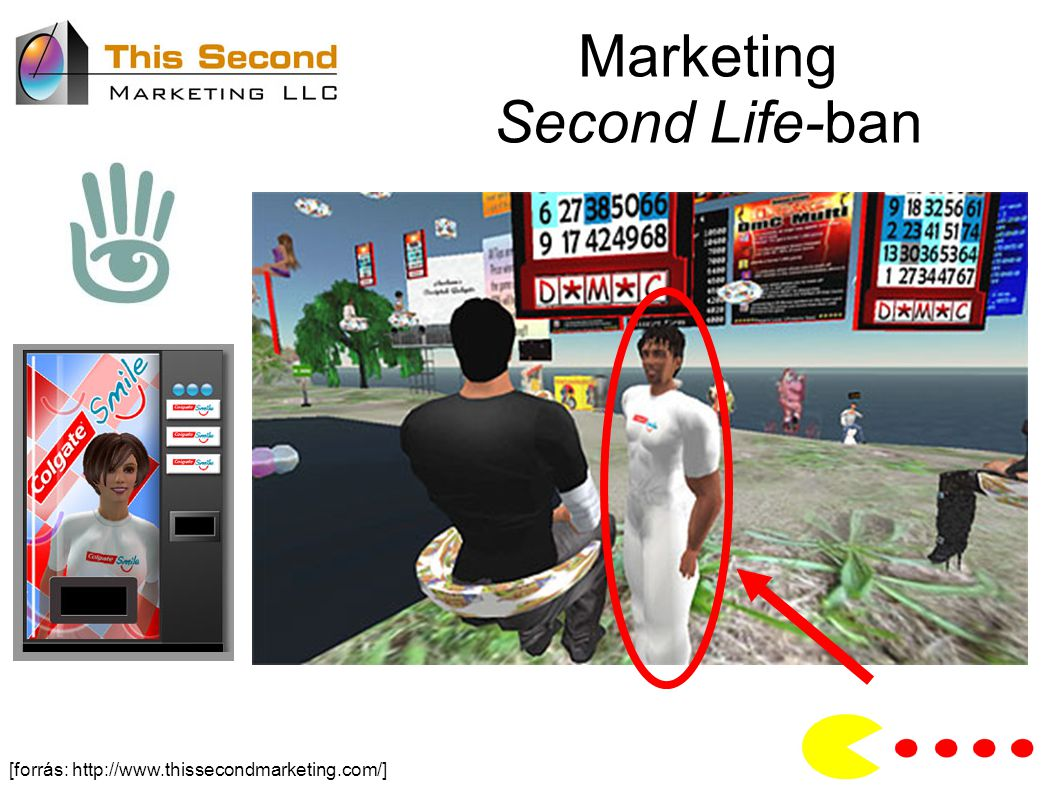 Marketing Second Life-ban