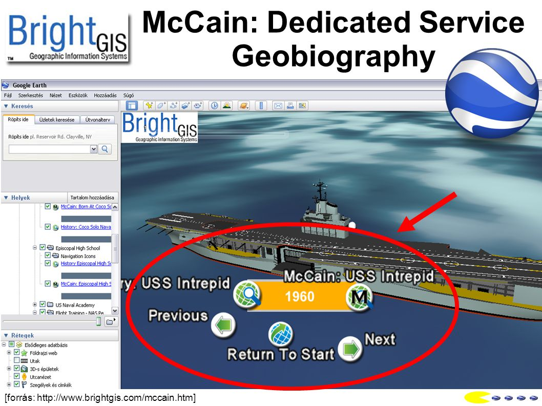 McCain: Dedicated Service Geobiography