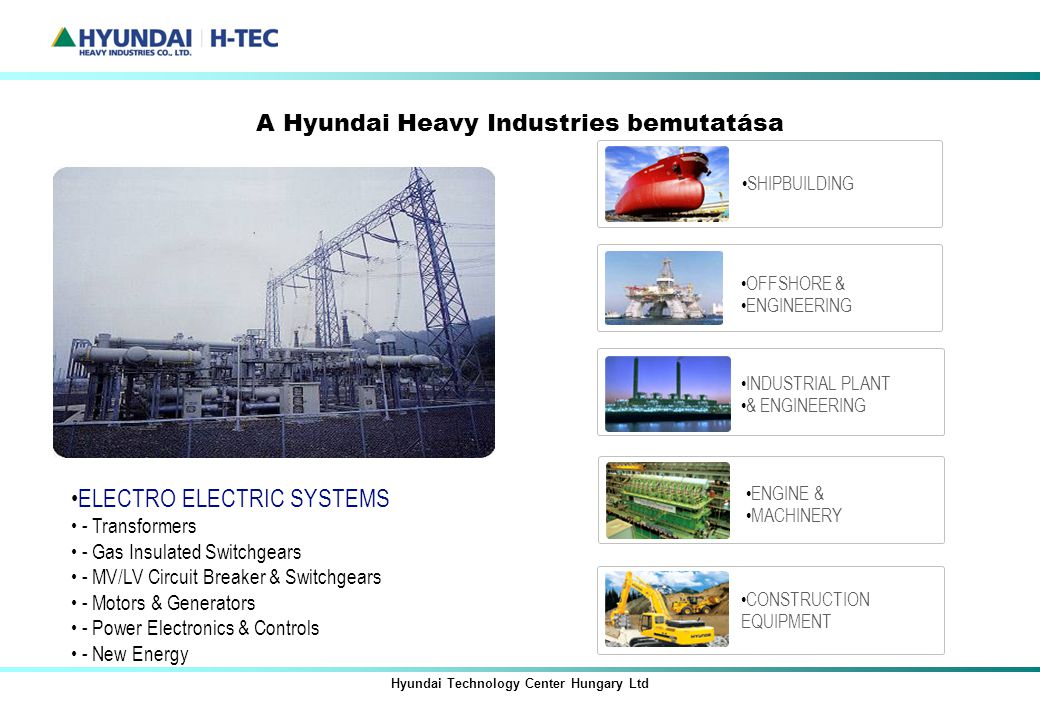 Hyundai Technology Center Hungary Ltd Ppt Let 246 Lteni