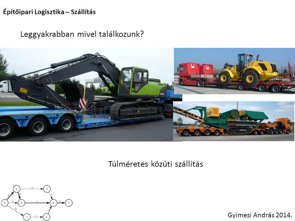 Túlméretes közúti szállítás