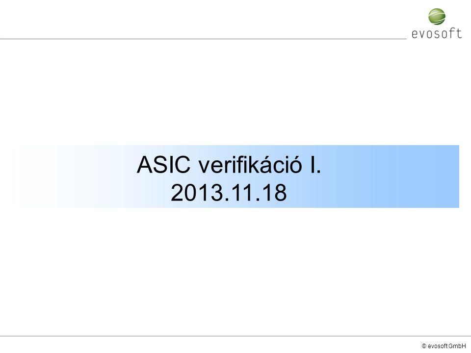 ASIC verifikáció I. 2013.11.18