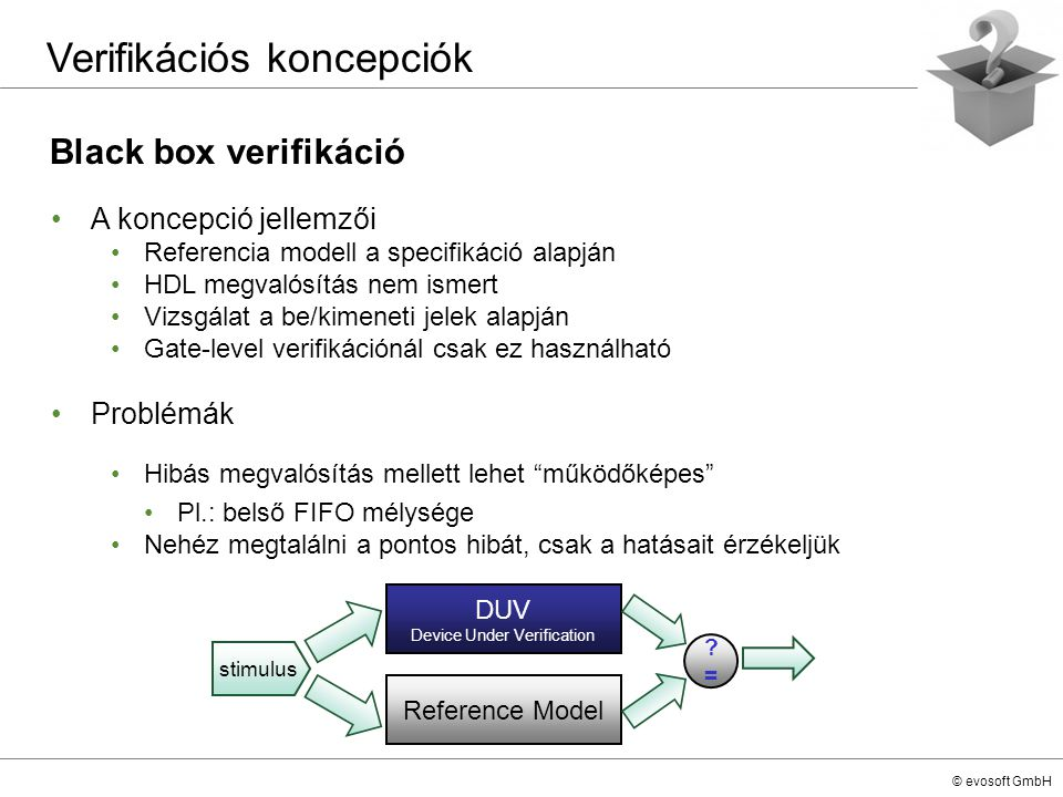 DUV Device Under Verification