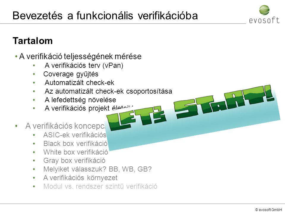 Bevezetés a funkcionális verifikációba