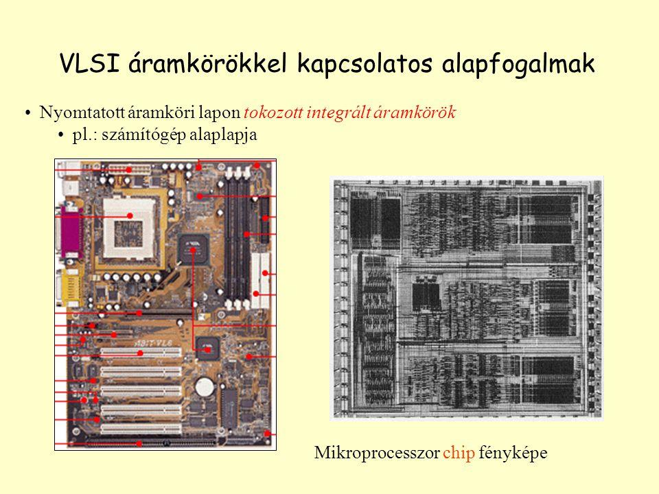 VLSI áramkörökkel kapcsolatos alapfogalmak