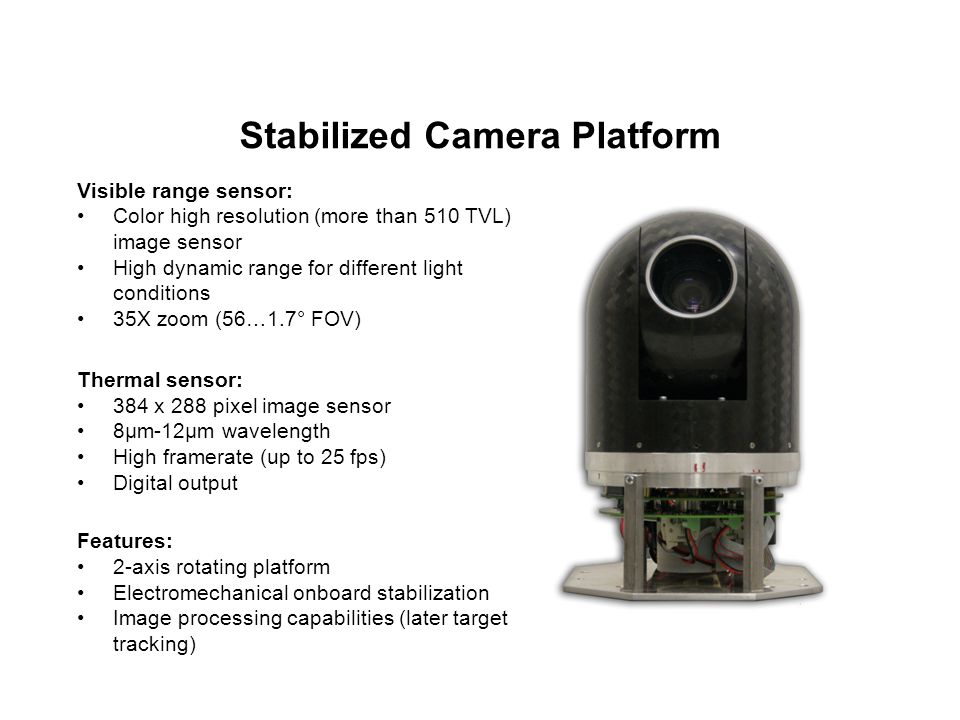 Stabilized Camera Platform