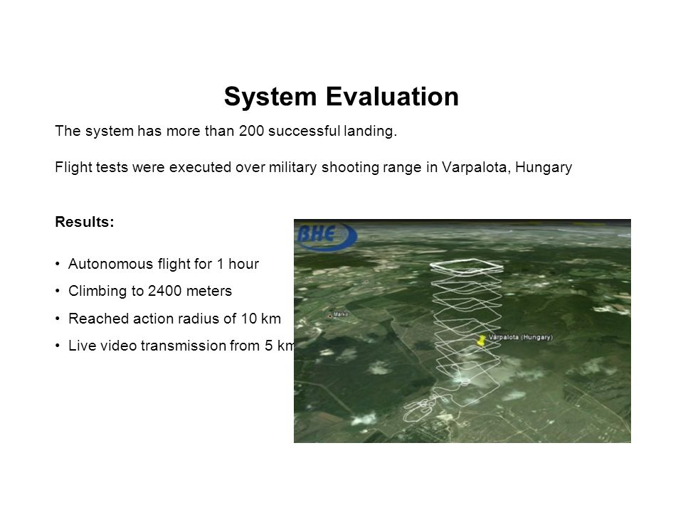 System Evaluation The system has more than 200 successful landing.