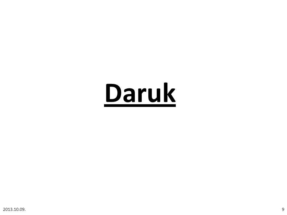 Daruk 2013.10.09.