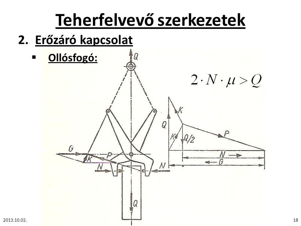 Teherfelvevő szerkezetek