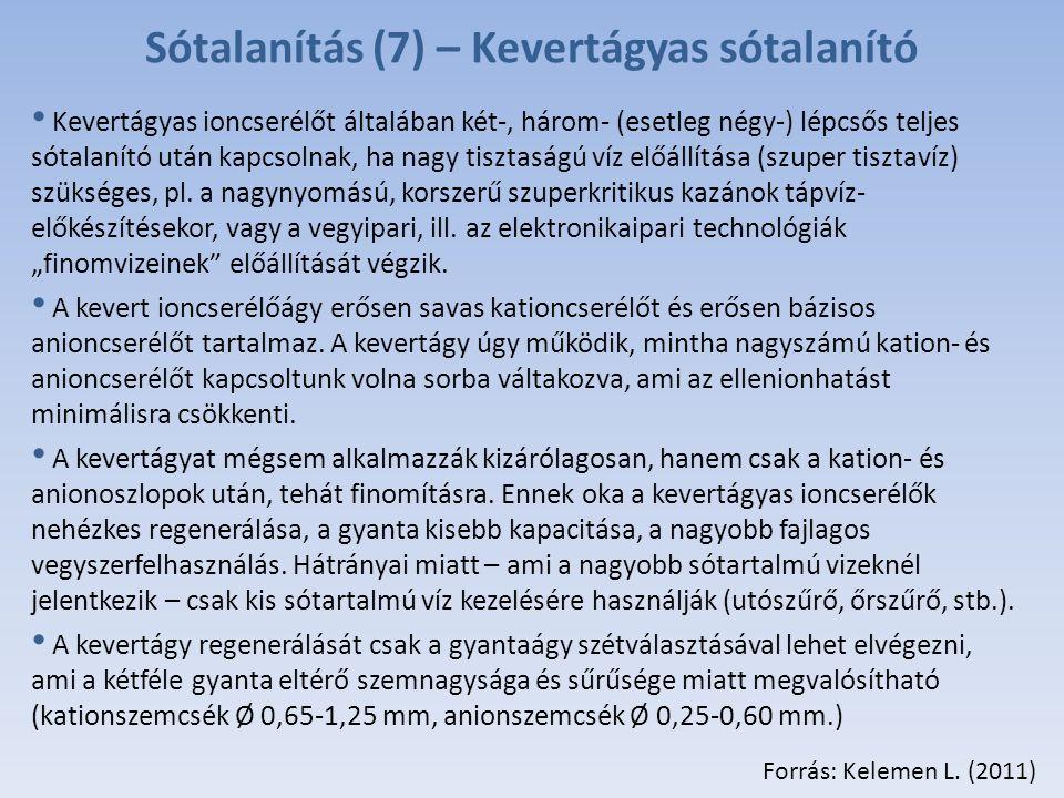 Sótalanítás (7) – Kevertágyas sótalanító