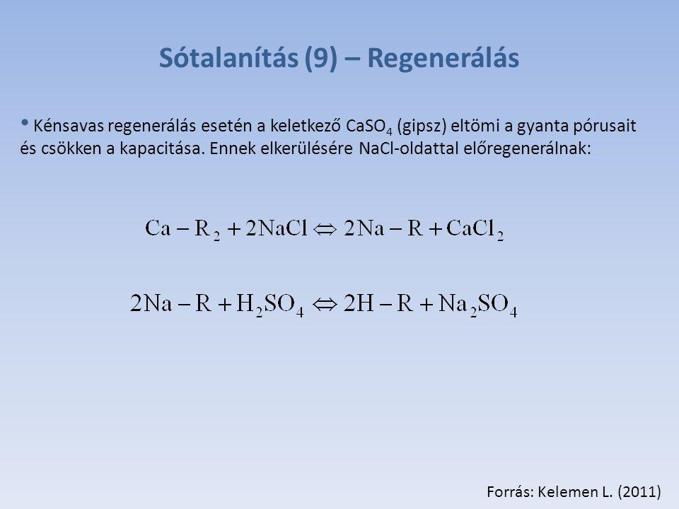 Sótalanítás (9) – Regenerálás