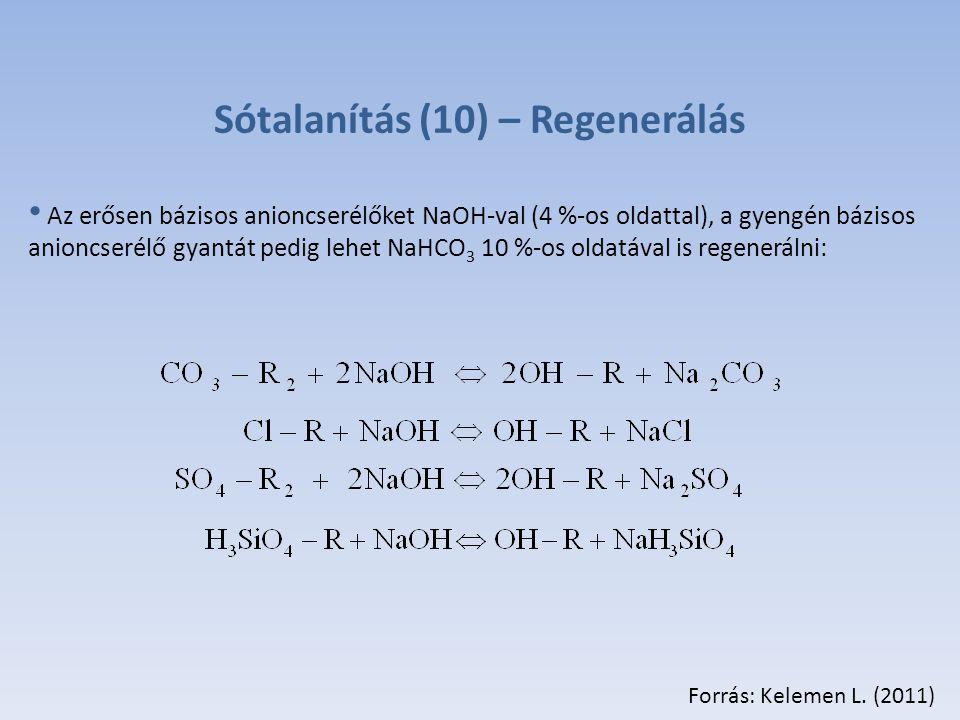 Sótalanítás (10) – Regenerálás