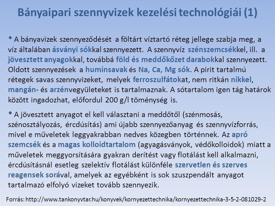 Bányaipari szennyvizek kezelési technológiái (1)