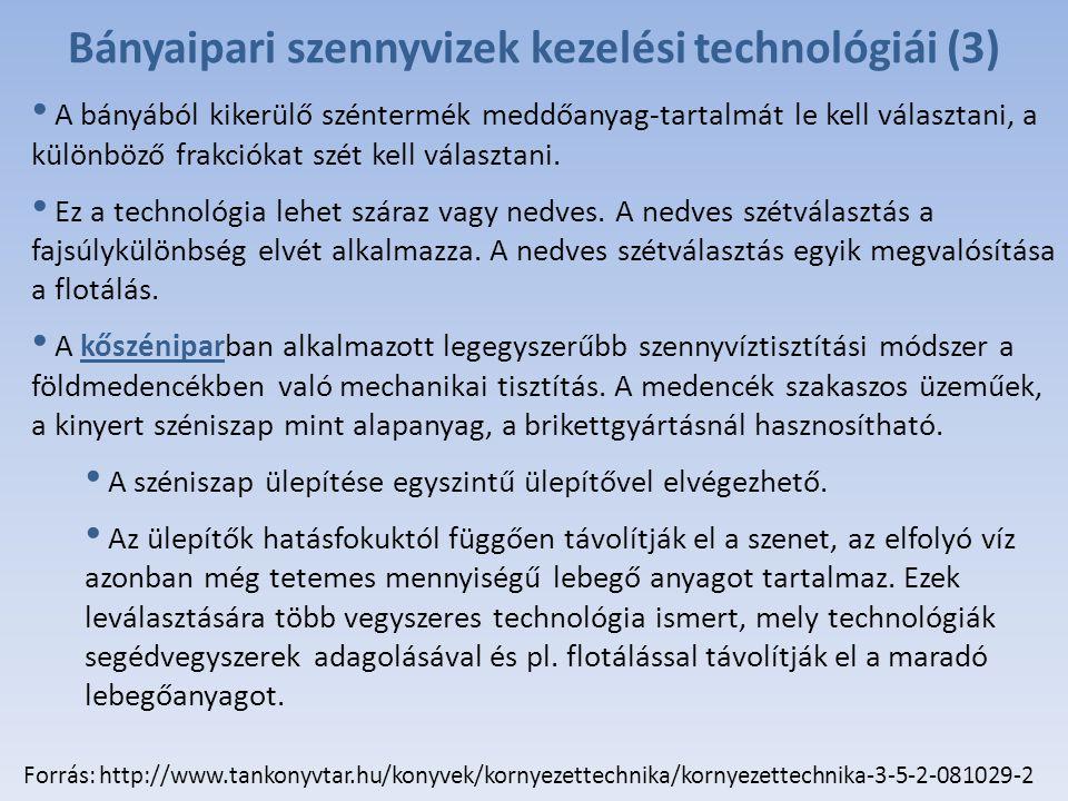 Bányaipari szennyvizek kezelési technológiái (3)