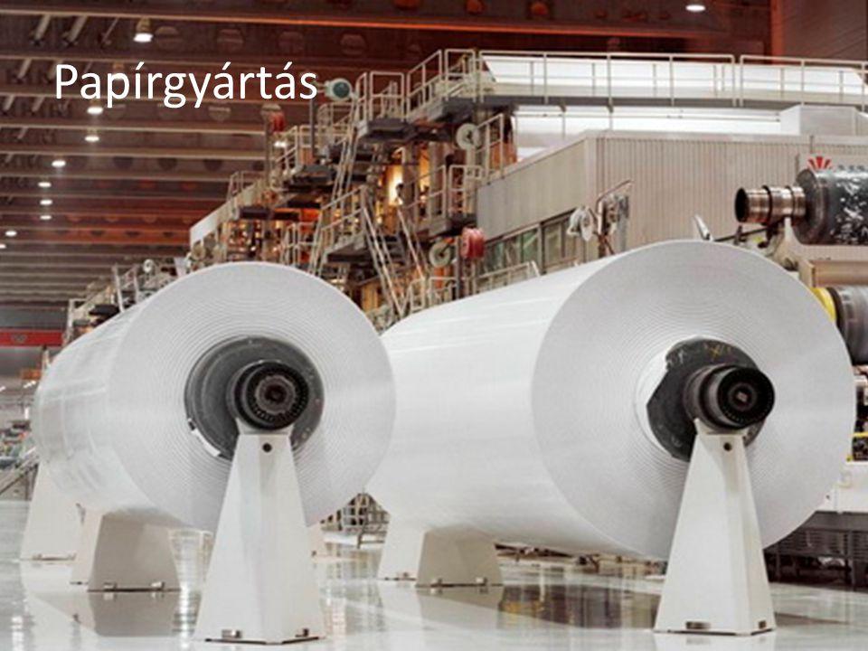 Papírgyártás Szennyvíz tisztítási eljárások Elsődleges (mechanikai)