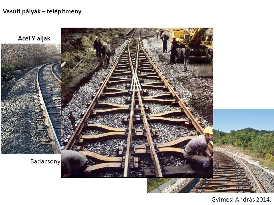 Vasúti pályák – felépítmény