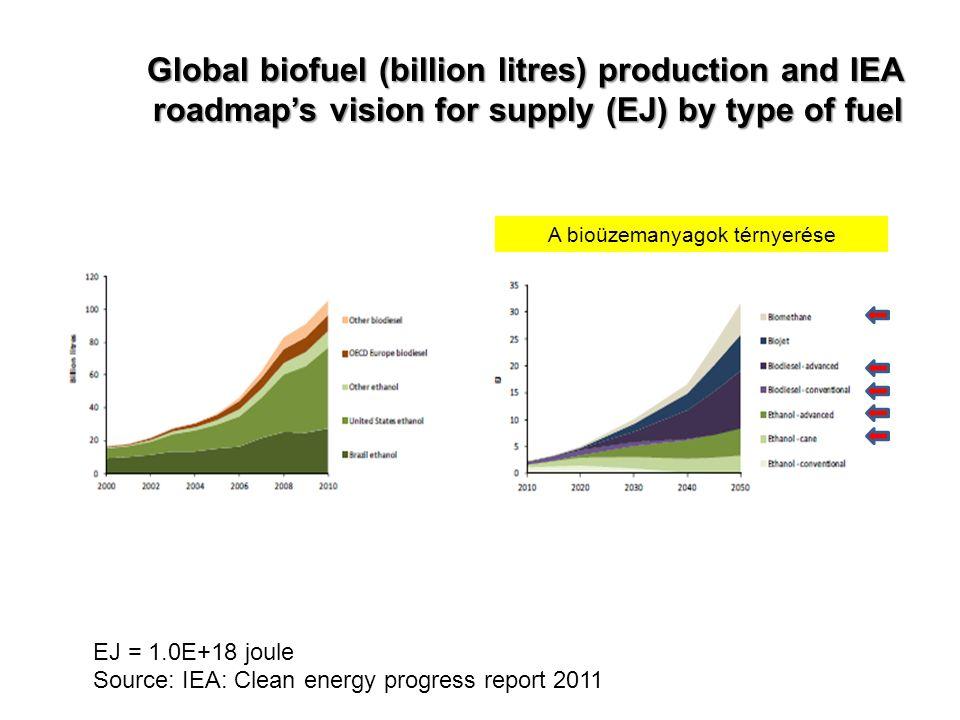 A bioüzemanyagok térnyerése