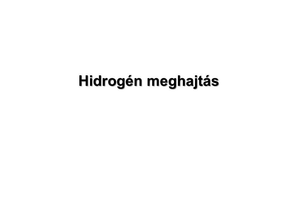 Hidrogén meghajtás