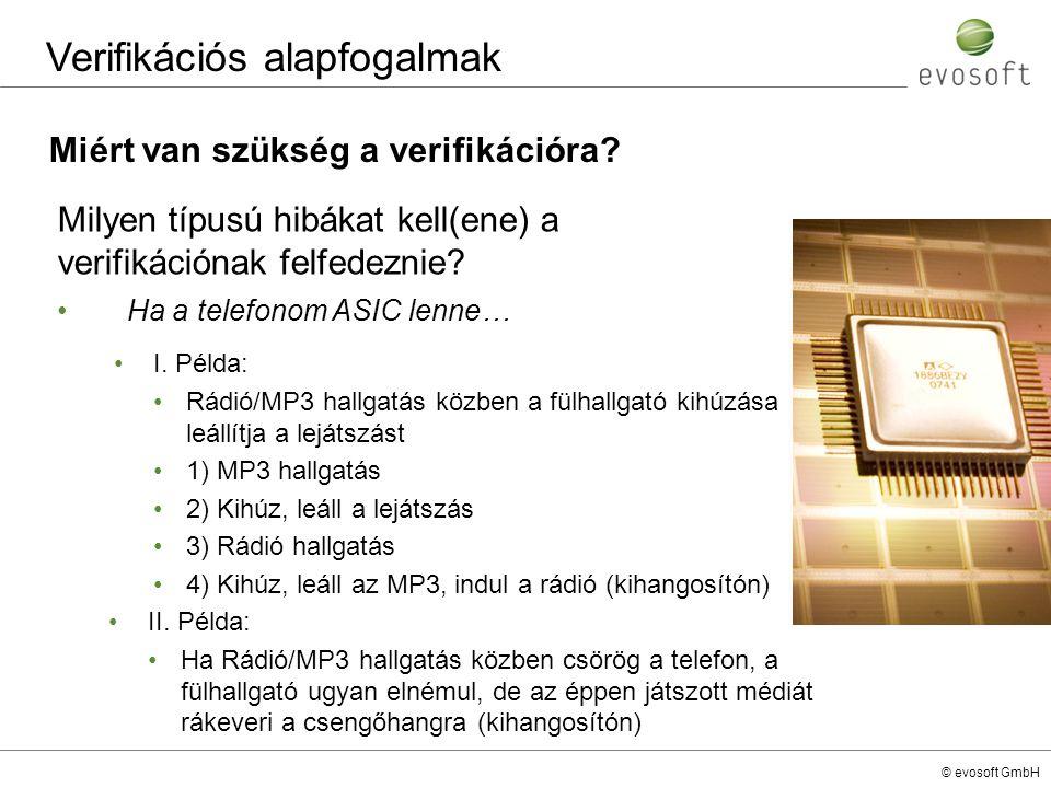 Verifikációs alapfogalmak