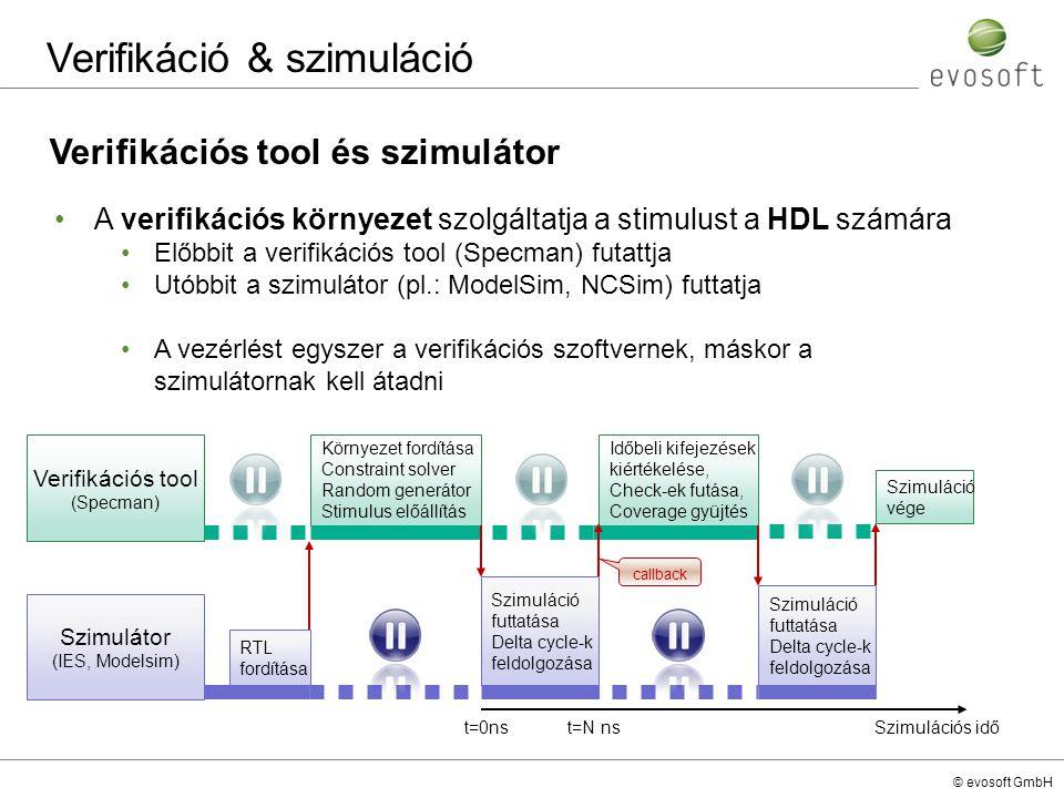 Verifikáció & szimuláció
