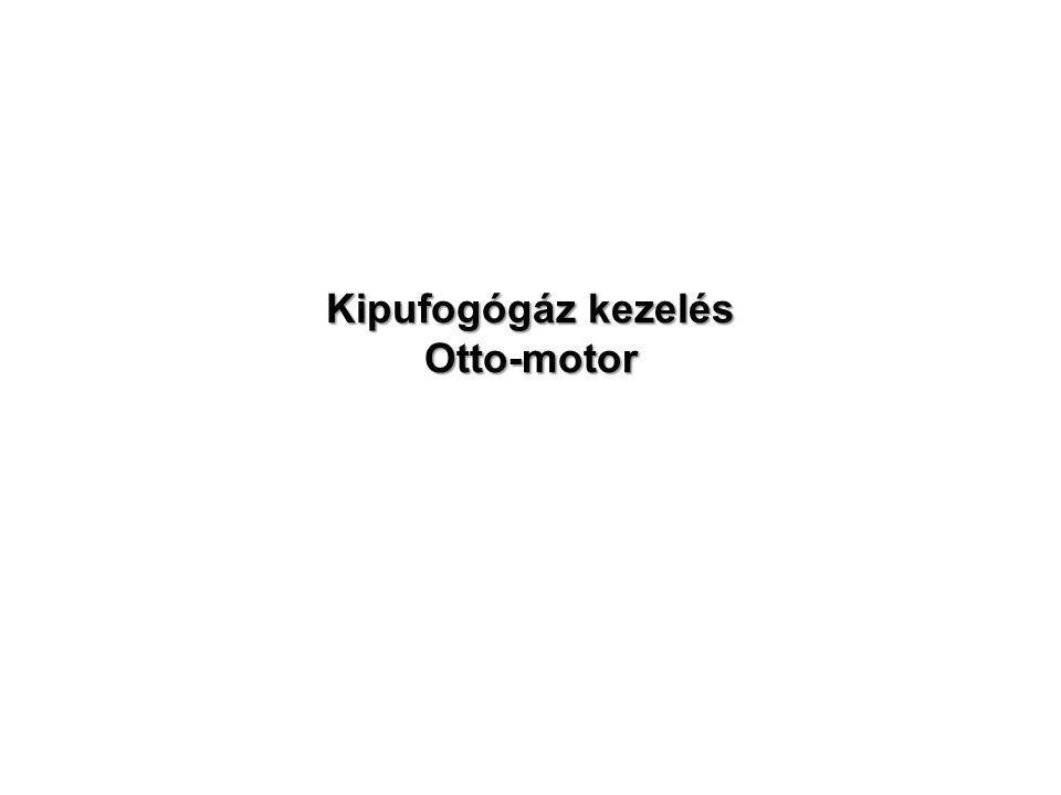 Kipufogógáz kezelés Otto-motor
