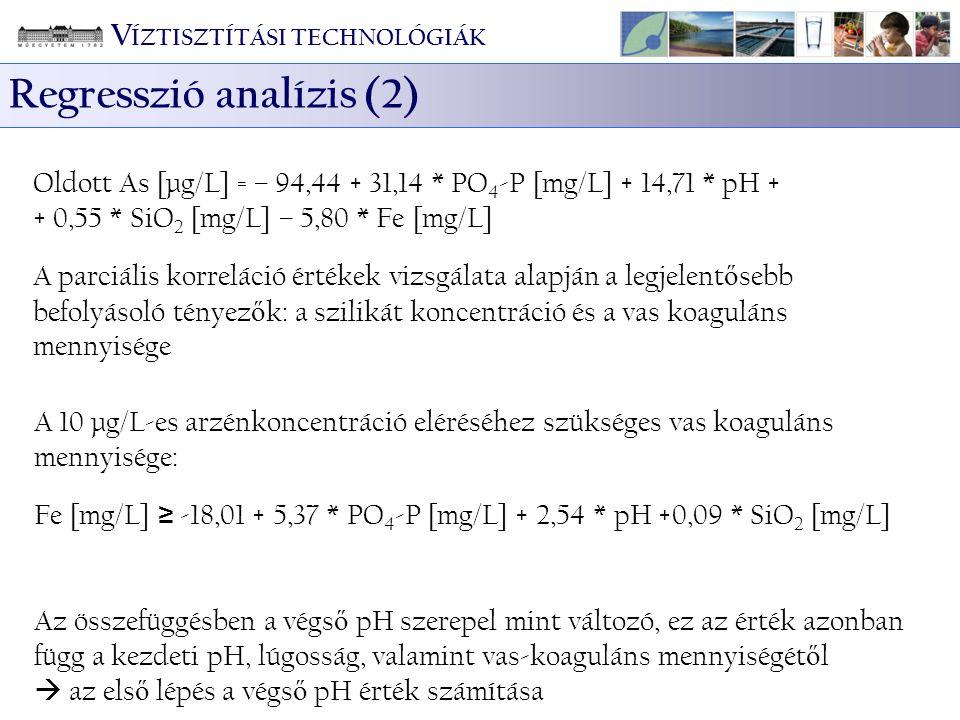 Regresszió analízis (2)
