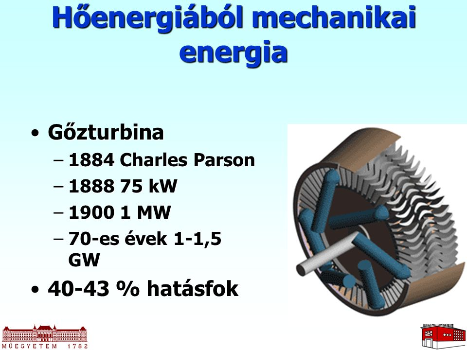Hőenergiából mechanikai energia