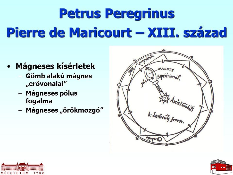 Pierre de Maricourt – XIII. század