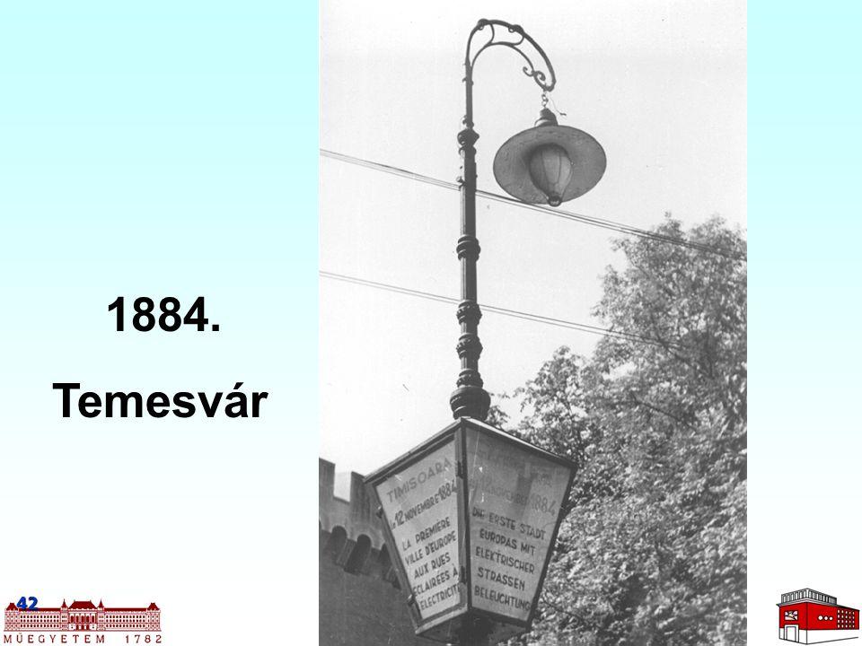 1884. Temesvár