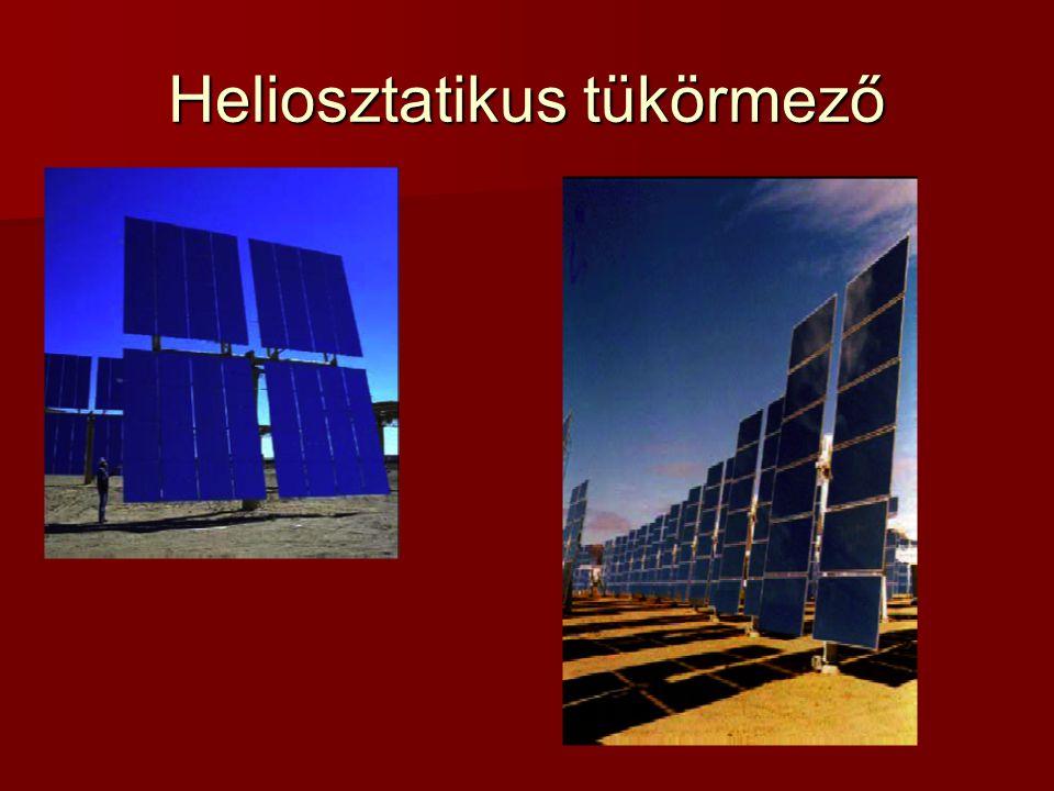 Heliosztatikus tükörmező