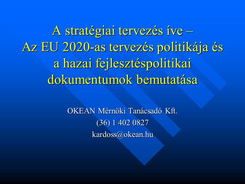 OKEAN Mérnöki Tanácsadó Kft. (36) 1 402 0827 kardoss@okean.hu