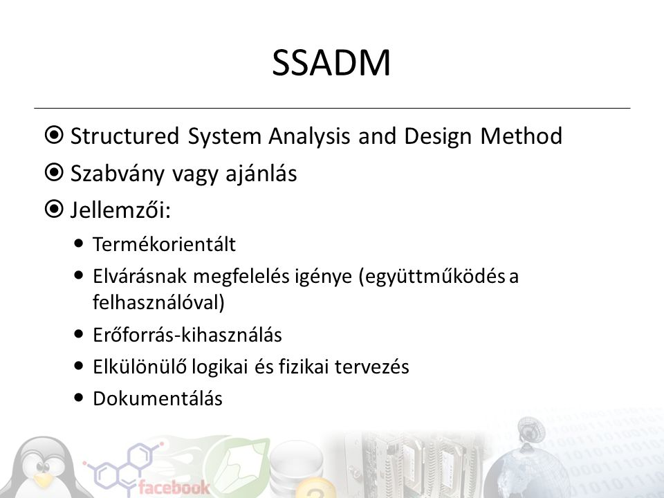 SSADM Structured System Analysis and Design Method