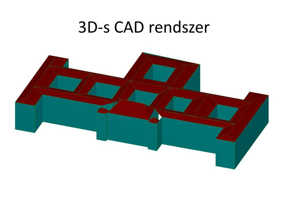 3D-s CAD rendszer