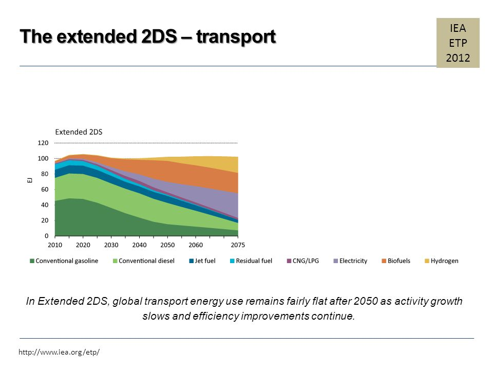 The extended 2DS – transport