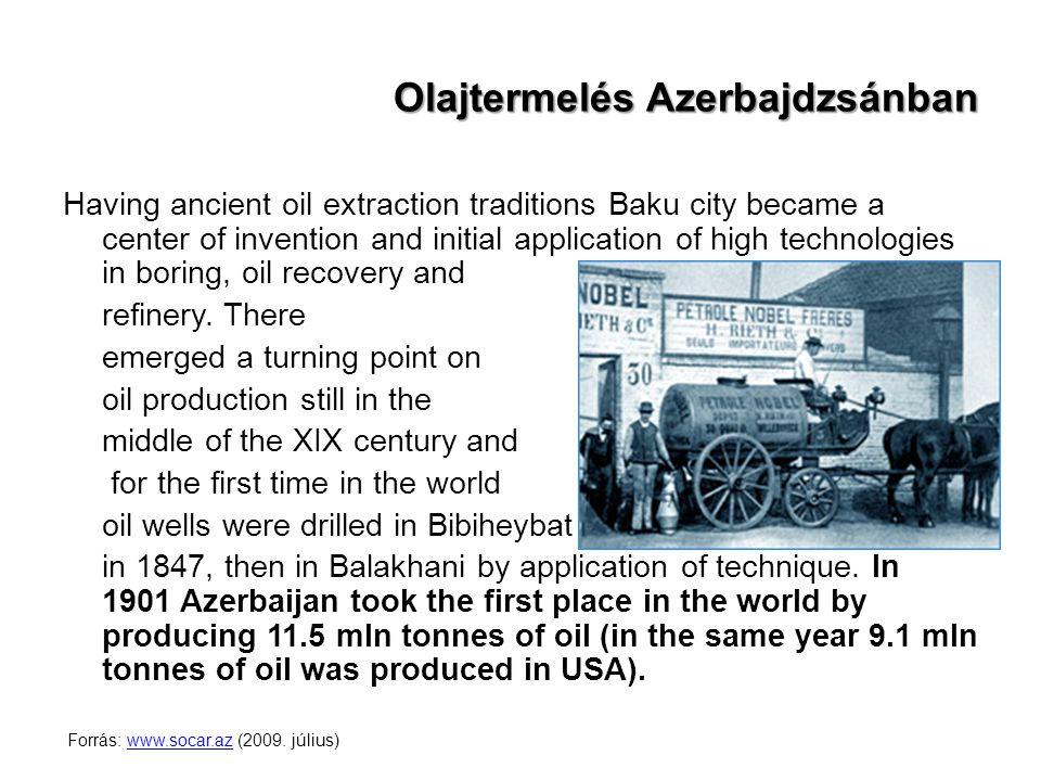 Olajtermelés Azerbajdzsánban