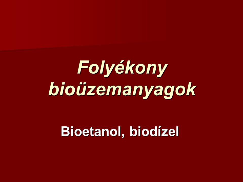 Folyékony bioüzemanyagok