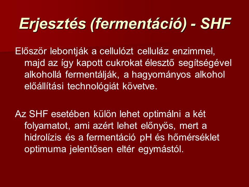 Erjesztés (fermentáció) - SHF