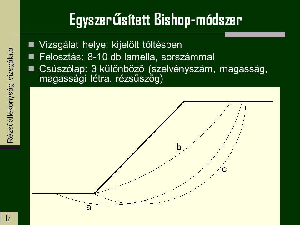 Egyszerűsített Bishop-módszer