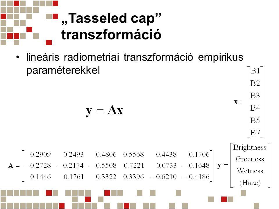 """""""Tasseled cap transzformáció"""