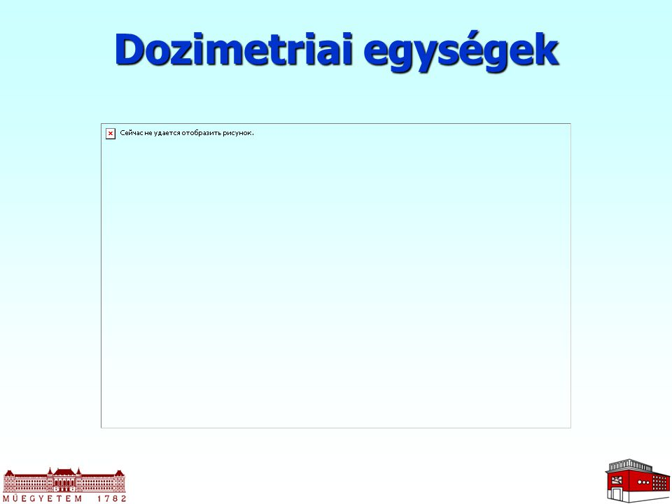 Dozimetriai egységek
