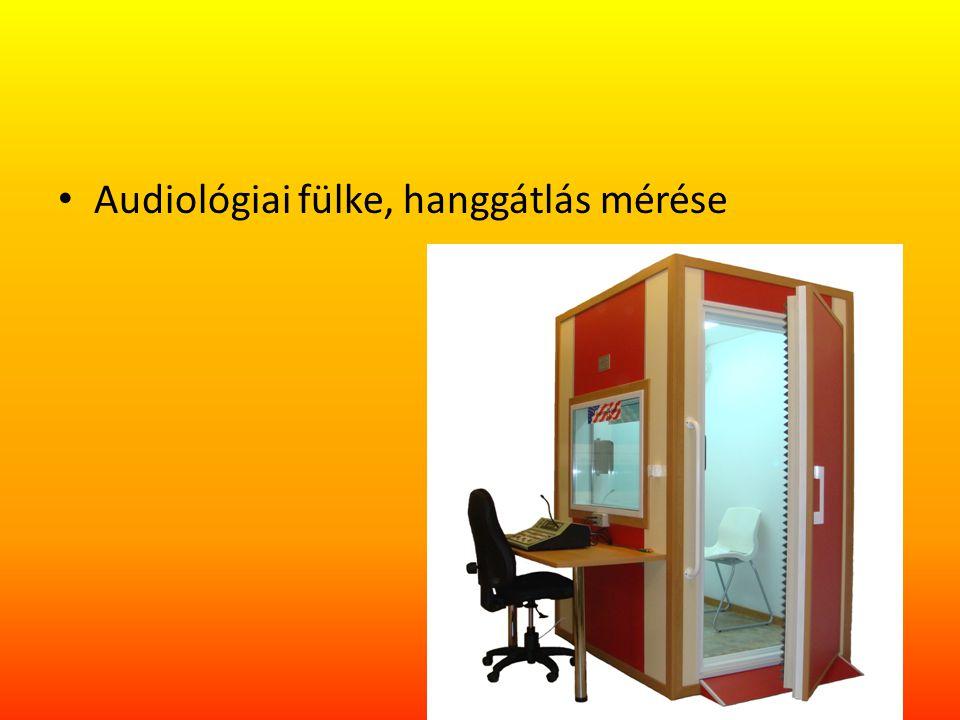 Audiológiai fülke, hanggátlás mérése