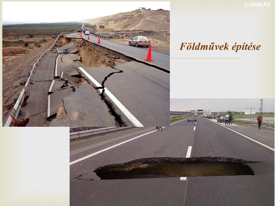 © 2008 PJ Földművek építése M1 highway Győr