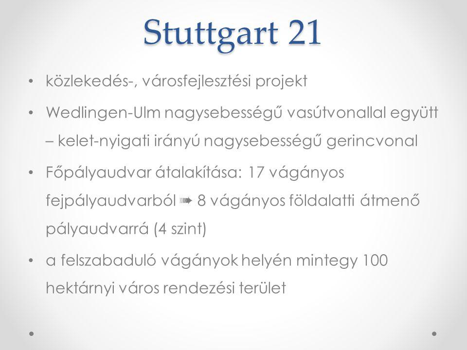 Stuttgart 21 közlekedés-, városfejlesztési projekt