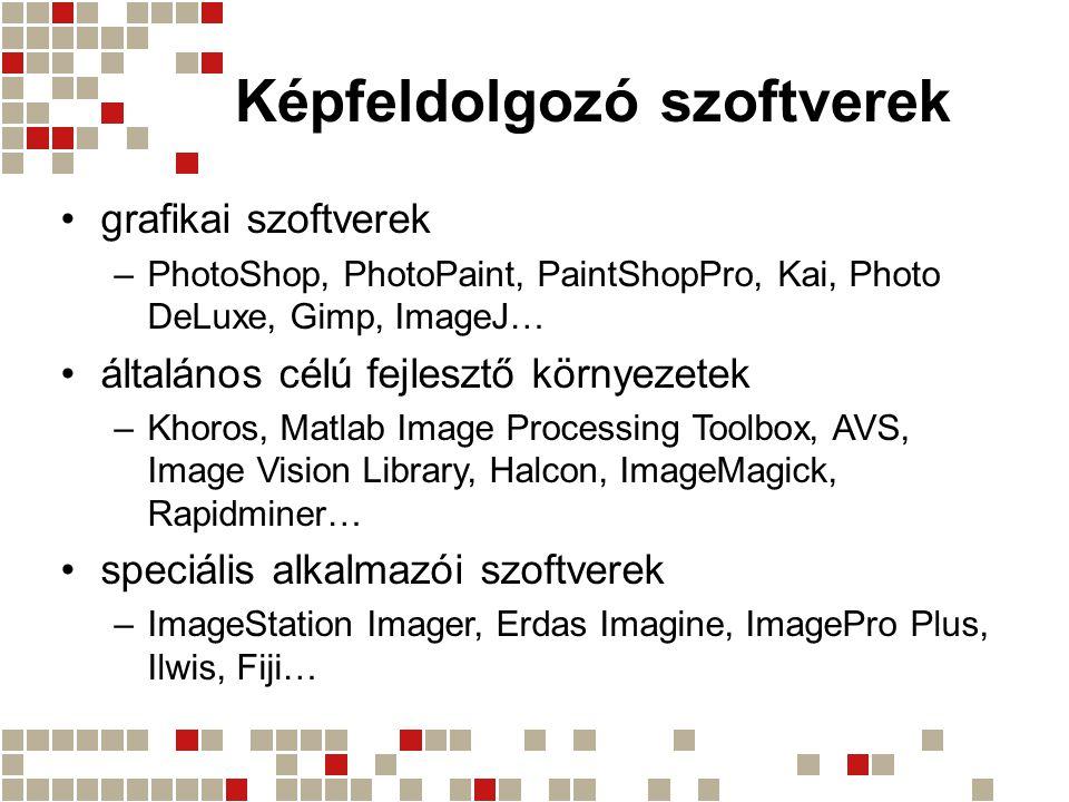 Képfeldolgozó szoftverek