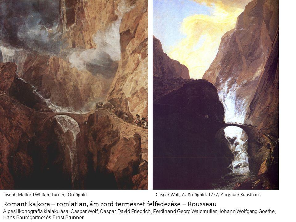 Romantika kora – romlatlan, ám zord természet felfedezése – Rousseau