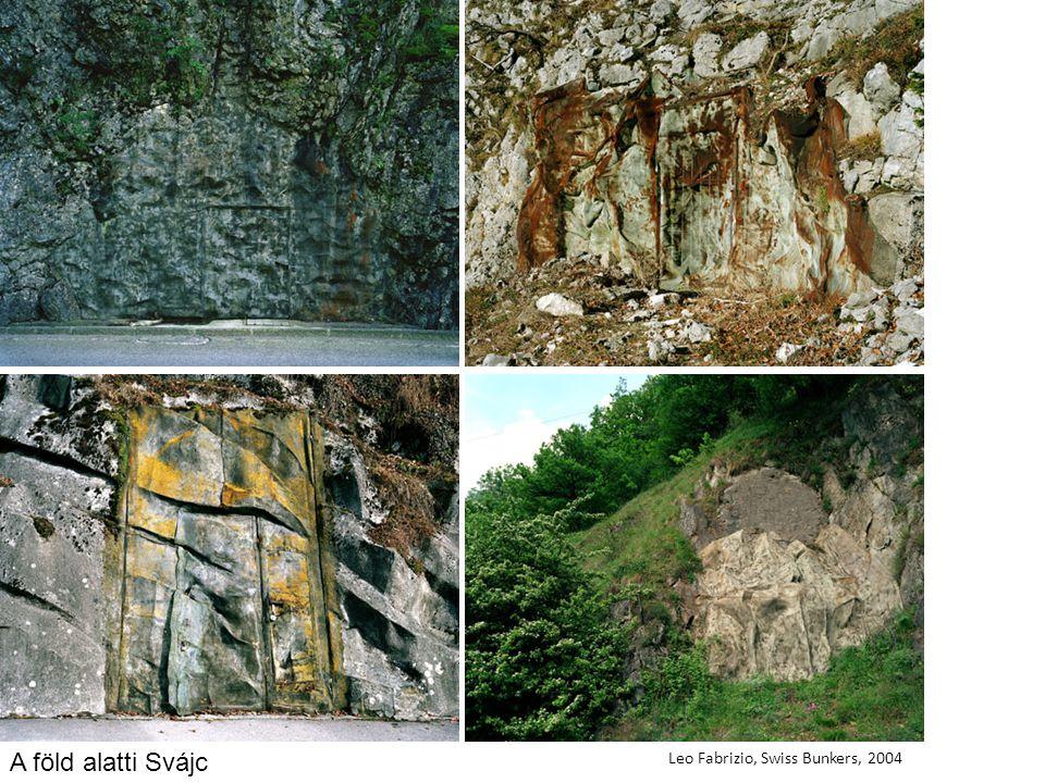 A föld alatti Svájc Leo Fabrizio, Swiss Bunkers, 2004