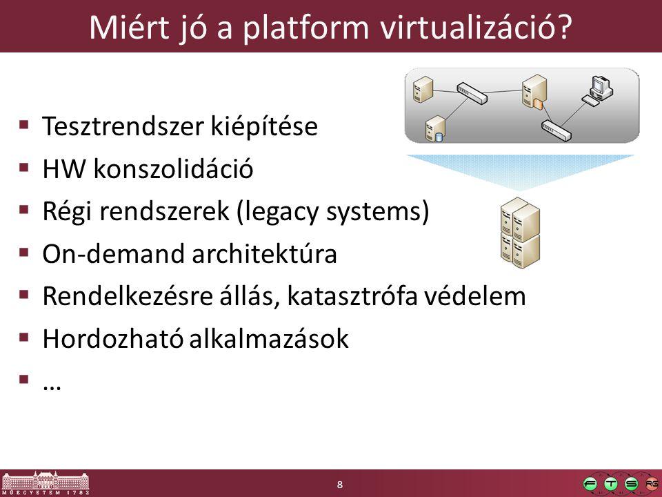 Miért jó a platform virtualizáció
