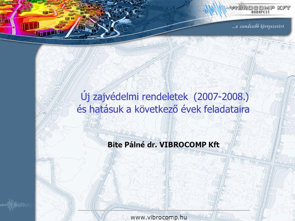 Bite Pálné dr. VIBROCOMP Kft